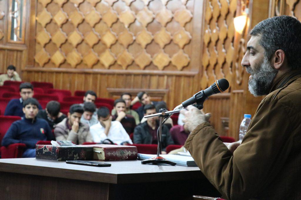 برگزاری جلسه درس اندیشه اسلامی توسط استاد نجف نیا