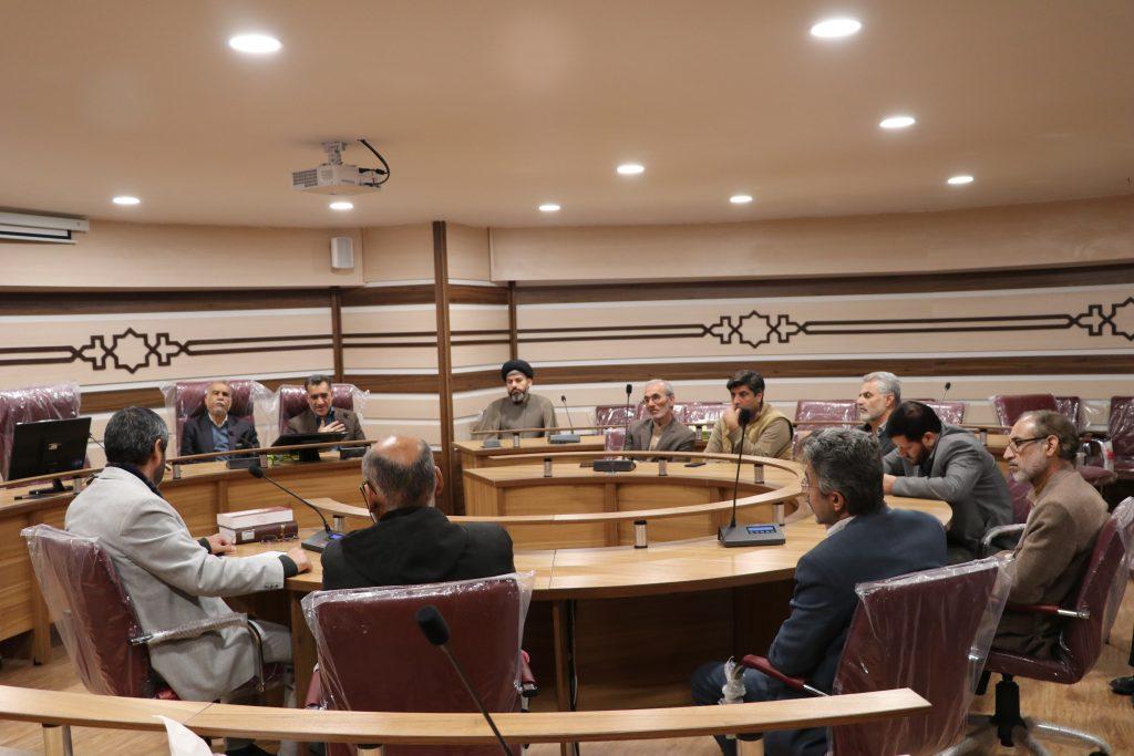 جلسه تفسیر قرآن کریم ویژه اساتید و اعضای محترم هیئت علمی