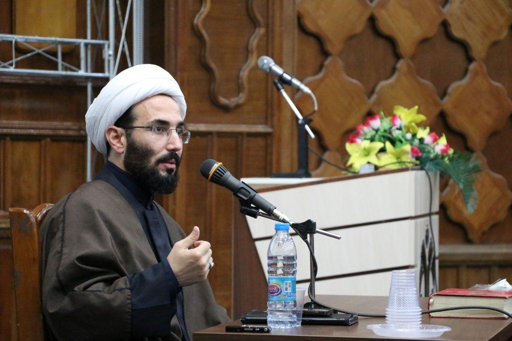 برگزاری جلسه درس جهاد اکبر توسط حجت الاسلام و المسلمین حافظی نسب