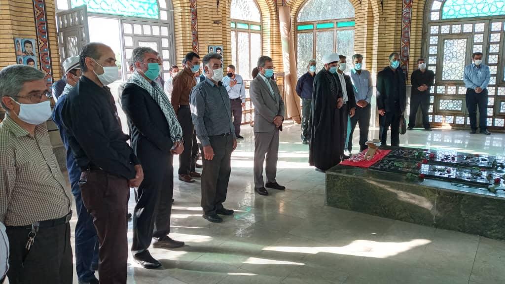 مراسم گرامیداشت هفته دفاع مقدس در واحد البرز
