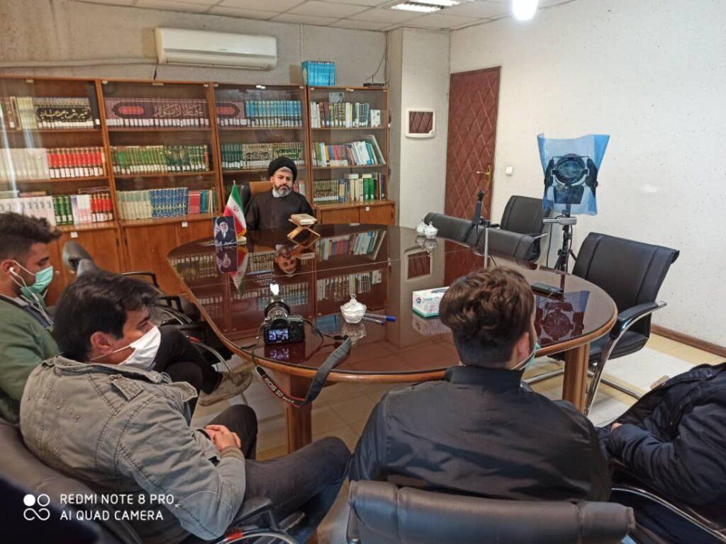 مصاحبه مسئول محترم نهاد نمایندگی مقام معظم رهبری در دانشگاه خوارزمی با برنامه ویژه زوجین دانشجو